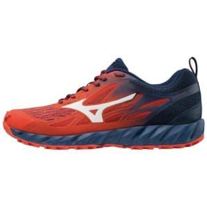 נעליים מיזונו לגברים Mizuno Wave Ibuki - כחול/אדום