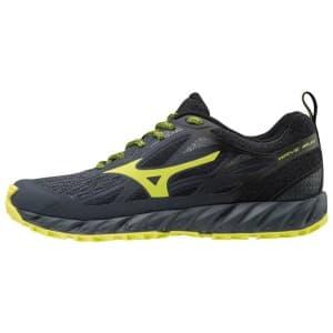 נעליים מיזונו לגברים Mizuno Wave Ibuki - שחור/צהוב