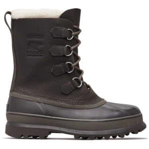 מגפיים סורל לגברים Sorel Caribou WL - שחור