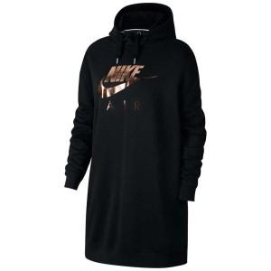 בגדי חורף נייק לנשים Nike Sportswear Air OS Hoody - שחור
