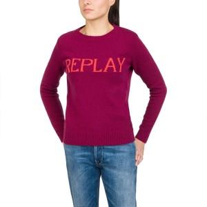 ביגוד ריפליי לנשים REPLAY DK1219 - ורוד