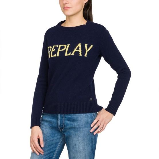 בגדי חורף ריפליי לנשים REPLAY DK1219 - כחול
