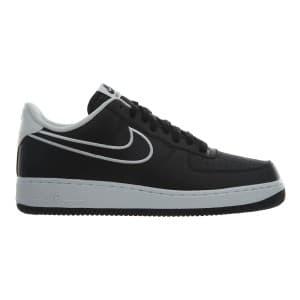 נעליים נייק לגברים Nike Air Force 1  07 Leather - שחור/לבן