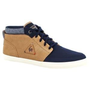 נעליים לה קוק ספורטיף לגברים Le Coq Sportif MONTFERETCRAFT HVY CVS SUEDE dress blue/ - חוםכחול