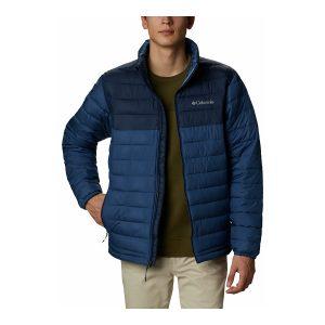 ג'קט ומעיל קולומביה לגברים Columbia Powder Lite - כחול