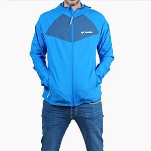 בגדי חורף קולומביה לגברים Columbia Heather Canyon - כחול/תכלת