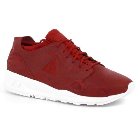 נעליים לה קוק ספורטיף לנשים Le Coq Sportif LCS R FLOW W METALLIC - אדום יין
