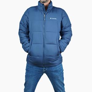 בגדי חורף קולומביה לגברים Columbia Pike Lake - כחול