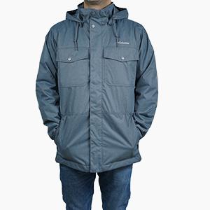 בגדי חורף קולומביה לגברים Columbia Foggy Breaker - אפור כהה