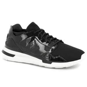 נעליים לה קוק ספורטיף לנשים Le Coq Sportif LCS R FLOW W COATED S LEATHER - שחור