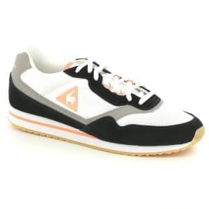 נעליים לה קוק ספורטיף לנשים Le Coq Sportif LOUISE SUEDE - שחור/לבן