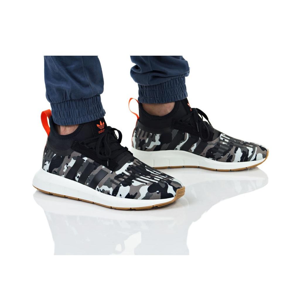 c8b5ed26127 נעליים Adidas Originals לגברים Adidas Originals SWIFT RUN BARRIER -  שחור ירוק ...