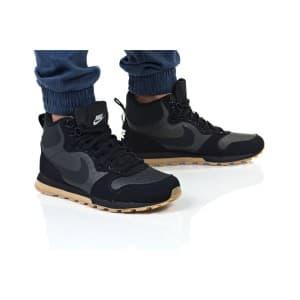נעלי הליכה נייק לגברים Nike MD RUNNER 2 MID PREM - אפור/שחור