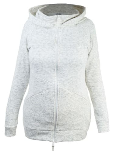 בגדי חורף פור אף לנשים 4F BLD005 - אפור בהיר
