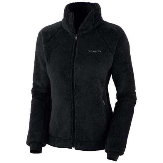 בגדי חורף קולומביה לנשים Columbia Pearl Plush II Fleece - שחור