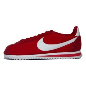 נעליים נייק לגברים Nike Classic Cortez Nylon - אדום