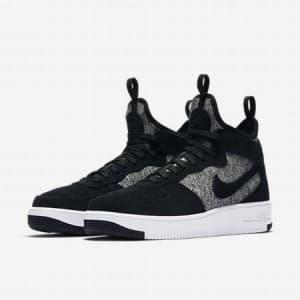 נעליים נייק לגברים Nike Air Force 1 UltraForce - שחור/לבן