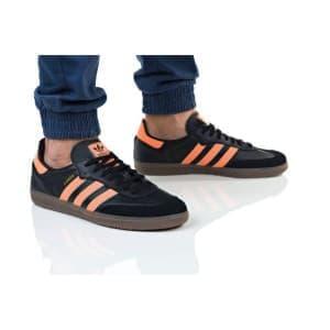 נעלי הליכה אדידס לגברים Adidas SAMBA OG - שחור/כתום