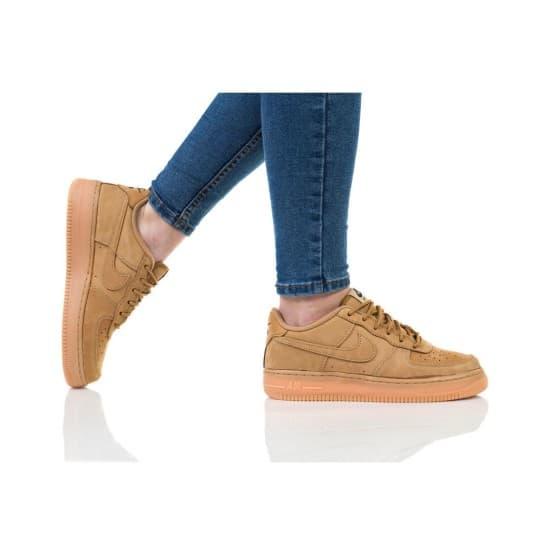 נעליים נייק לנשים Nike AIR FORCE 1 WINTER - קאמל