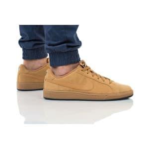 נעליים נייק לגברים Nike COURT ROYALE SUEDE - בז'