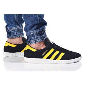 נעלי סניקרס אדידס לגברים Adidas Originals HAMBURG - שחור/צהוב