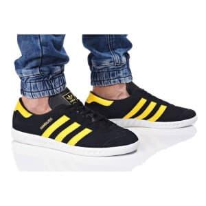 נעליים Adidas Originals לגברים Adidas Originals HAMBURG - שחור/צהוב