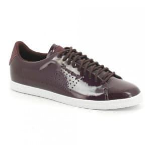נעליים לה קוק ספורטיף לנשים Le Coq Sportif CHARLINE COATED S LEATHER fudge - שוקולד