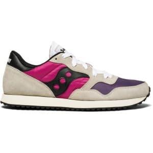 נעליים סאקוני לגברים Saucony DXN TRAINER VINTAGE - סגול/ורוד