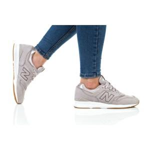 נעליים ניו באלאנס לנשים New Balance WL697 - אפור בהיר