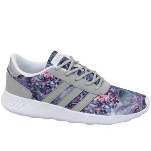 נעליים אדידס לנשים Adidas Lite Racer W - אפור/סגול