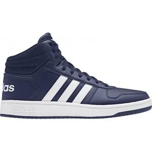 נעליים אדידס לגברים Adidas Hoops 20 Mid - כחול