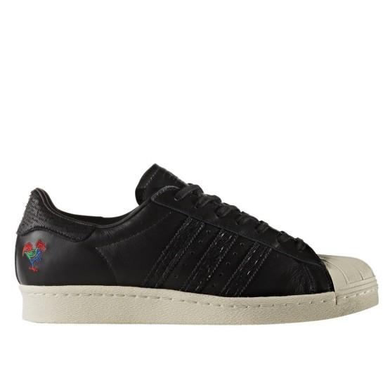 ענק נעלי סניקרס אדידס לגברים, Adidas Superstar 80S Cny - משלוח והחזרה AY-72