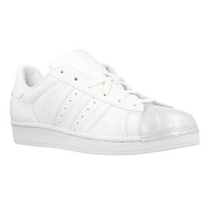 נעליים אדידס לנשים Adidas Superstar Glossy - לבן