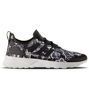 נעליים אדידס לנשים Adidas ZX Flux Adv Verve - שחור/לבן