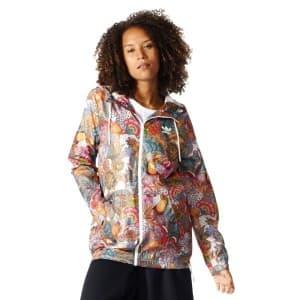 בגדי חורף אדידס לנשים Adidas Originals Fugiprabali Windbreaker - צבעוני