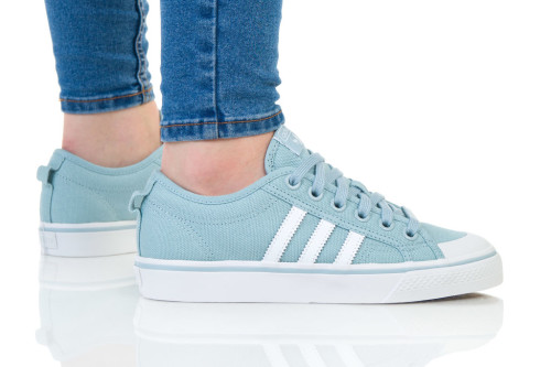 נעלי הליכה Adidas Originals לנשים Adidas Originals NIZZA - תכלת