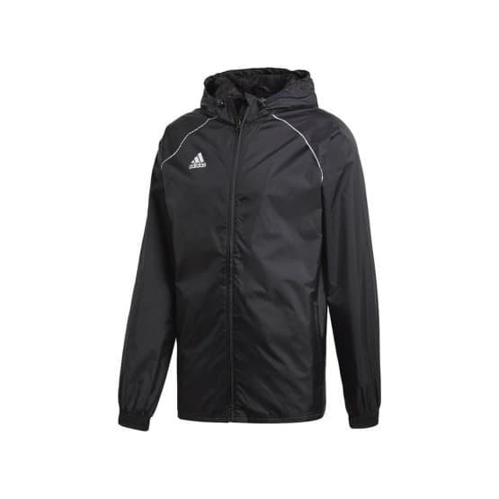 בגדי חורף אדידס לגברים Adidas Core 18 Rain Jacket - שחור