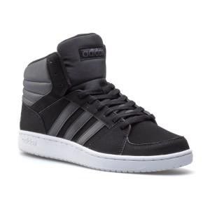 נעלי הליכה אדידס לגברים Adidas VS Hoops Mid - שחור