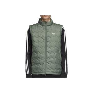 בגדי חורף אדידס לגברים Adidas Sst Puffy Vest - ירוק