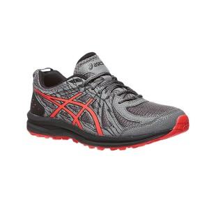 נעליים אסיקס לגברים Asics Frequent Trail - אפור/אדום