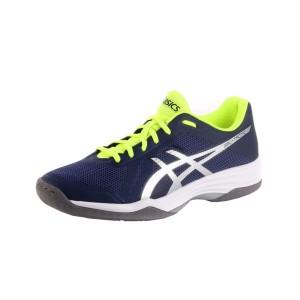 נעלי הליכה אסיקס לגברים Asics Gel tactic 400 - כחול/צהוב