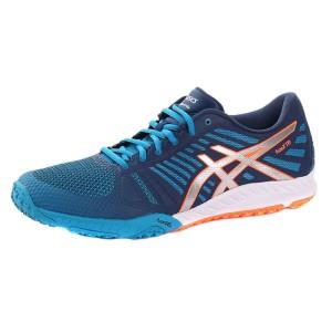 נעליים אסיקס לגברים Asics Fuzex TR 4393 - כחול/כתום