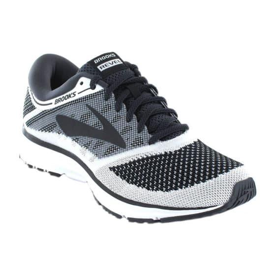 נעליים ברוקס לגברים Brooks Revel - לבן/שחור