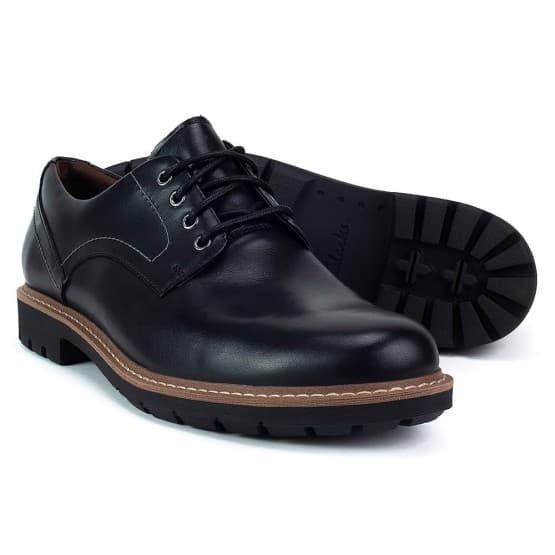 נעליים אלגנטיות קלארקס לגברים Clarks Batcombe Hall - שחור