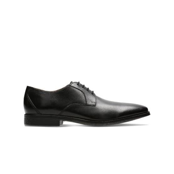 נעליים אלגנטיות קלארקס לגברים Clarks Gilman Lace - שחור