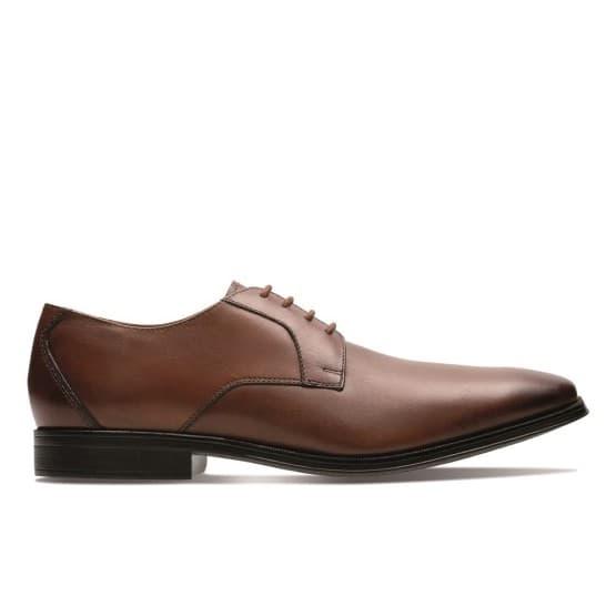 נעליים אלגנטיות קלארקס לגברים Clarks Gilman Lace - חום