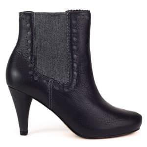 נעלי עקב גבוהות קלארקס לנשים Clarks Dalia Bella - אפור