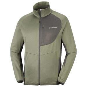 בגדי חורף קולומביה לגברים Columbia Drammen Point Full Zip - ירוק
