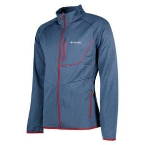 בגדי חורף קולומביה לגברים Columbia Drammen Point Full Zip - כחול