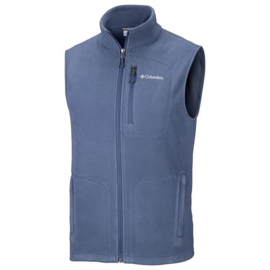 בגדי חורף קולומביה לגברים Columbia Fast Trek Fleece Vest - כחול